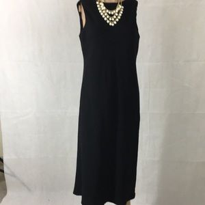 Ralph Lauren Simple Black Sleeveless Dress